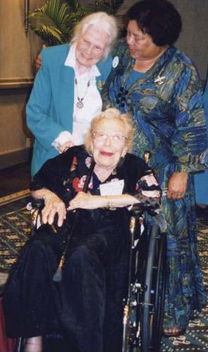 Bev Sharp, Fay Gillis Wells & Achsa Donnels