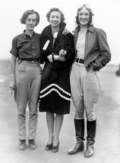 Frances Allen, Alma Heflin & Teresa James