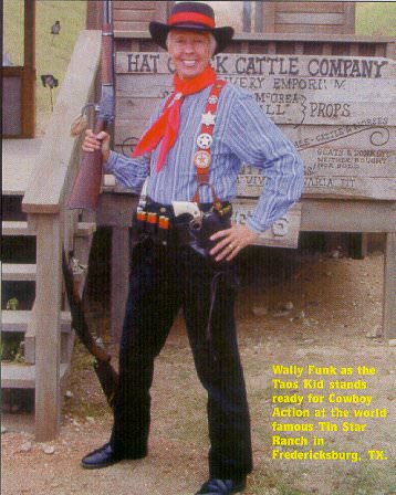 Wally Funk aka the Taos Kid